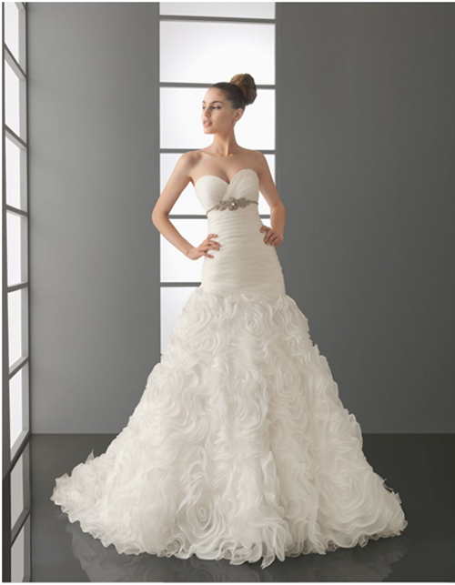 Different Styles of Cheap Wedding Dresses for Bridals
