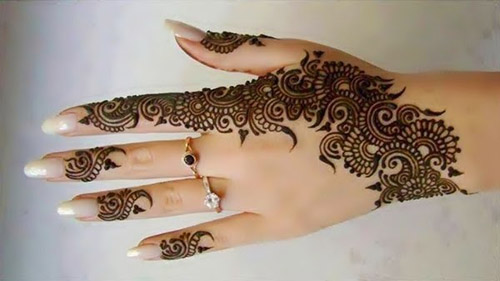 Mehndi For Head : Uses and trends of different mehndi designs