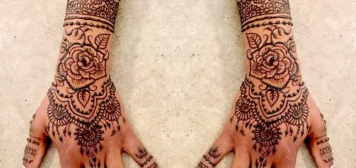 7 tricks for applying beautiful simple henna tattoo on your Skin