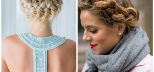 12 Easy hairstyles to get out of trouble and not see you scruffy