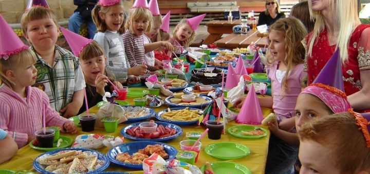 How to organize your children's birthday party in a unique way