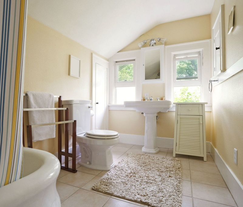 Perfectly clean bathroom