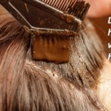 Dye hair with henna