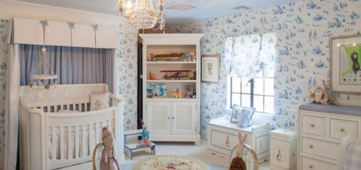Decorating a Peter Rabbit Nursery