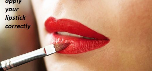 How to apply your lipstick correctly