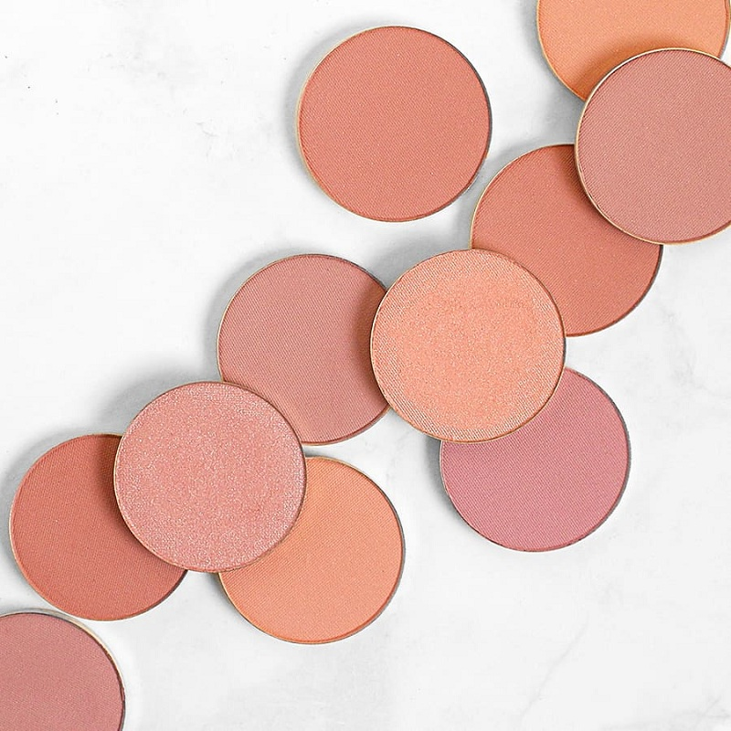 Buy a pale pink, peach or transparent plum if you have clear skin