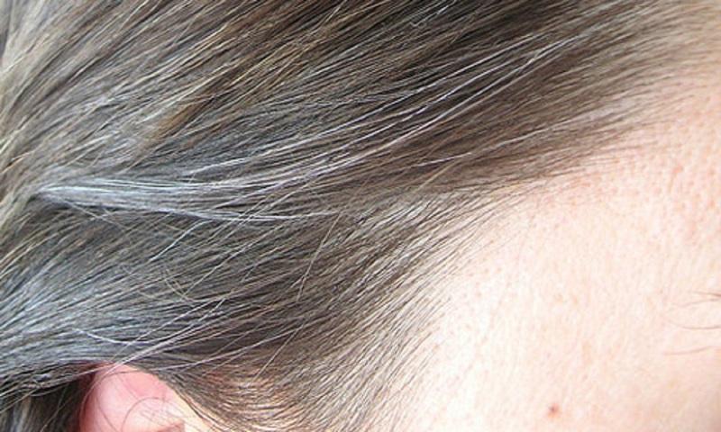 Avoid the appearance of gray hair