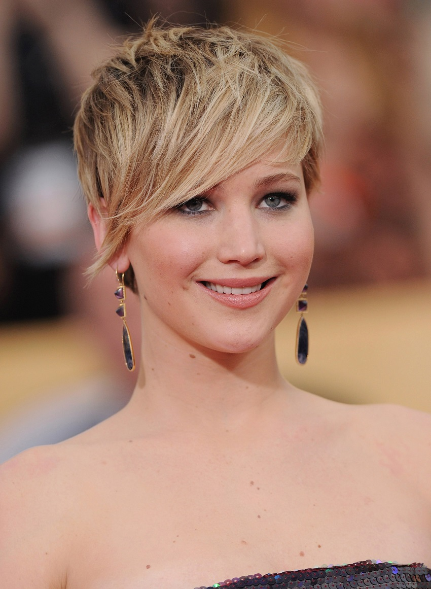 Styles of pixie haircut