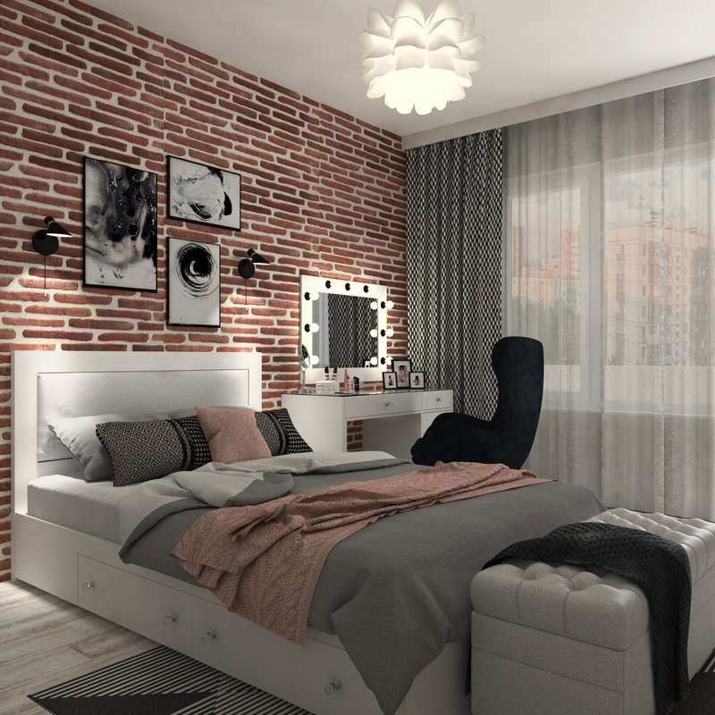 decorate the bed