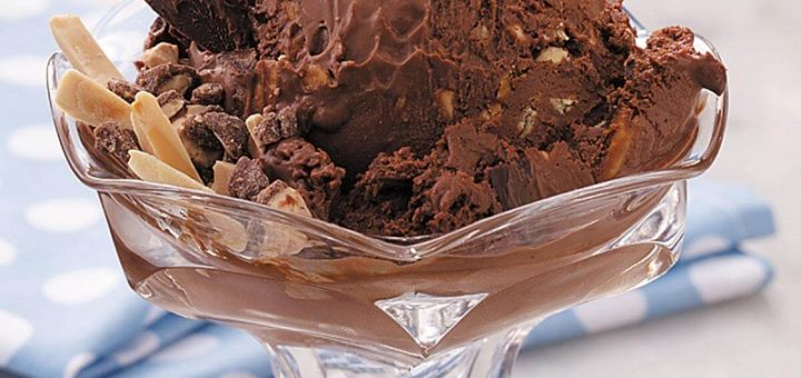 CHOCOLATE ICE CREAM FOR TEA, IS IT POSSIBLE?