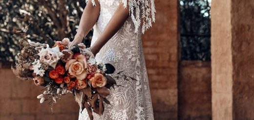 Some outfits for a bold and alternative bridal look