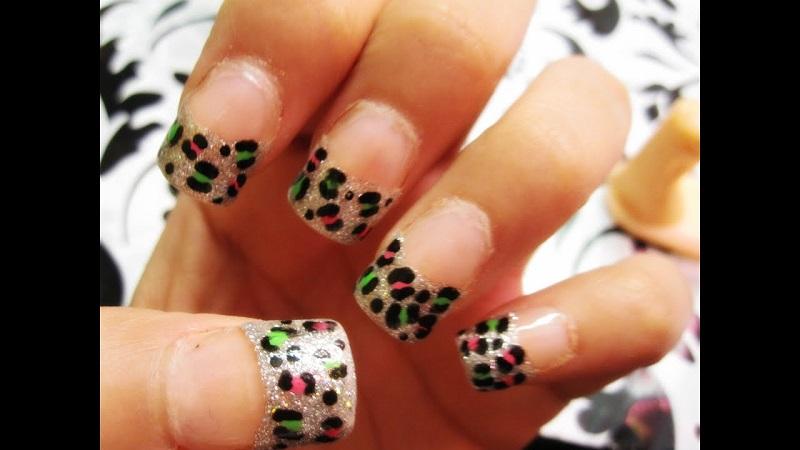 animal print nail designs