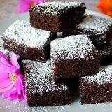 Make your own walnut chocolate brownie