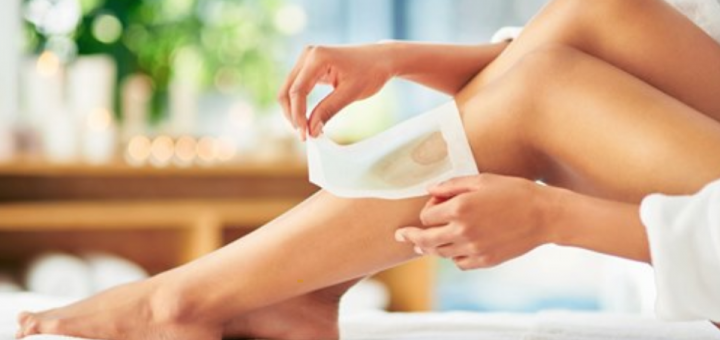 How to wax legs